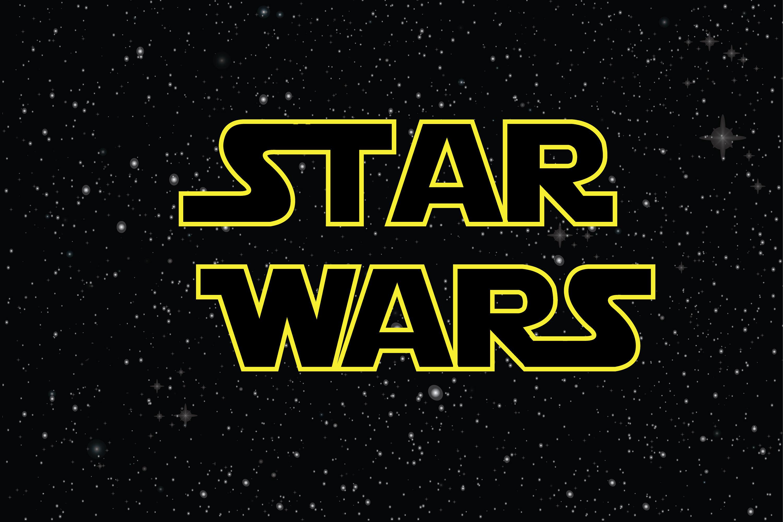 Printed Star Wars Birthday Party Backdrop Star Wars