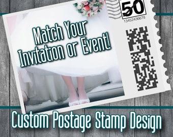 Custom postage stamps | Etsy