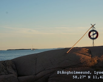 Poster Stångholmesund Life Ring