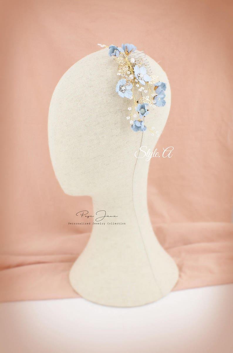 Bridal Hair Comb Crystal Leaves Wedding Hair Accessories Bridal Hair Accessory Crystal Bridal Comb Floral Comb Bridal Bling Bridal Hair pin