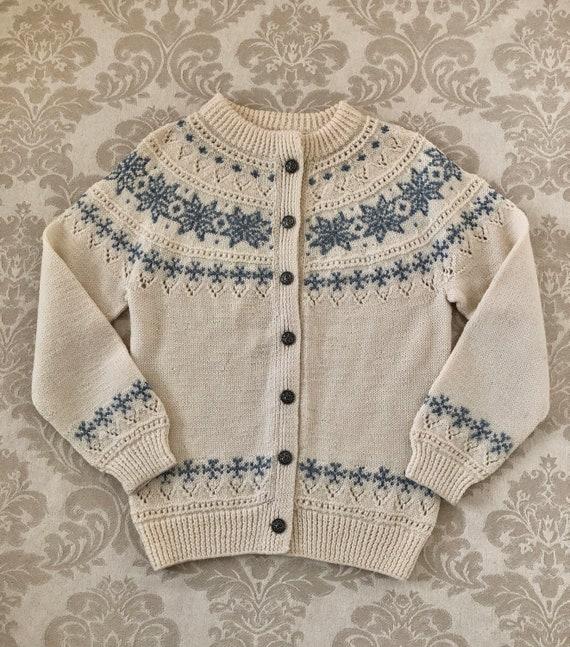 Vintage Dale of Norway Sweater, Pure Wool Norwegia