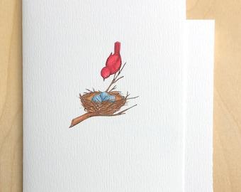 Mama Bird Mother's Day Card