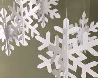 christmas snowflake decorations christmas decor winter wedding decorations large hanging white snowflakes winter snowflakes party decor - Snowflake Christmas Decorations