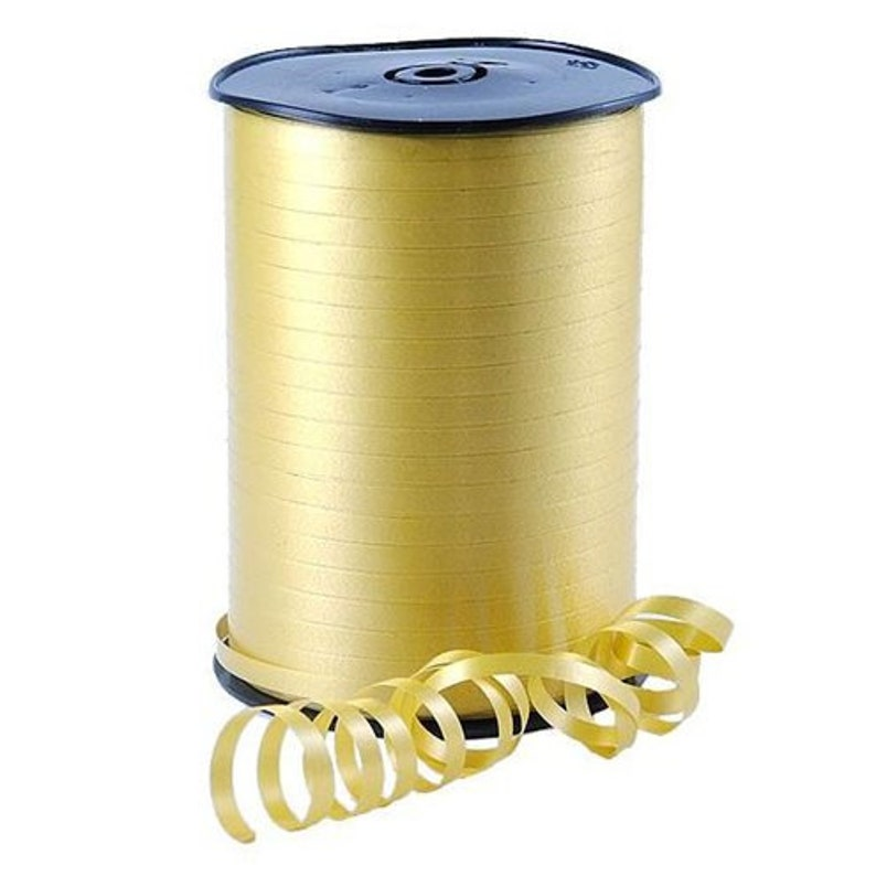 Balloons Gift Wrapping CHOOSE COLOUR 500m Full Reel of Curling Ribbon