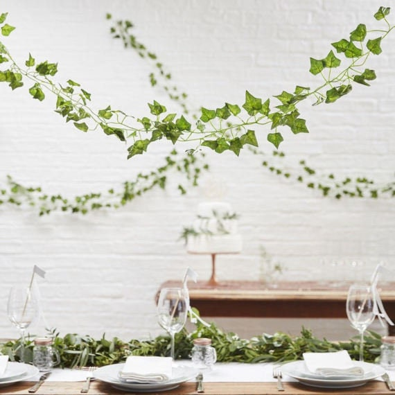 Decorative Vines Decorative Ivy Vines Wedding Decorations Etsy