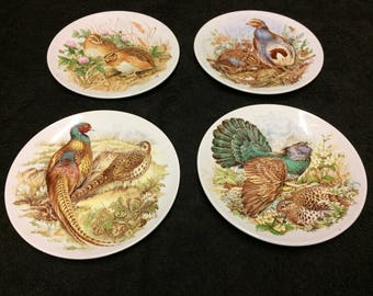 Poole Pottery Game Bird Plates