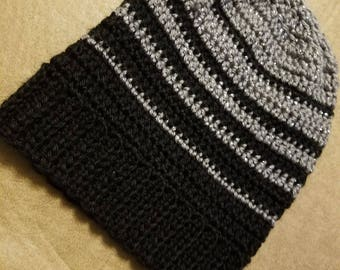 Spurs inspired slouchy beanie