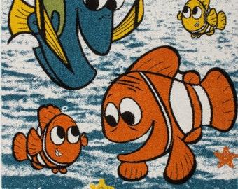 Ladole Rugs  Moda Kids Finding Nemo Fish Area Rug 4x6 5x7 7x10