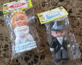 Babyking Regent Baby Products Corp, Groom and Bride Squeeze Dolls
