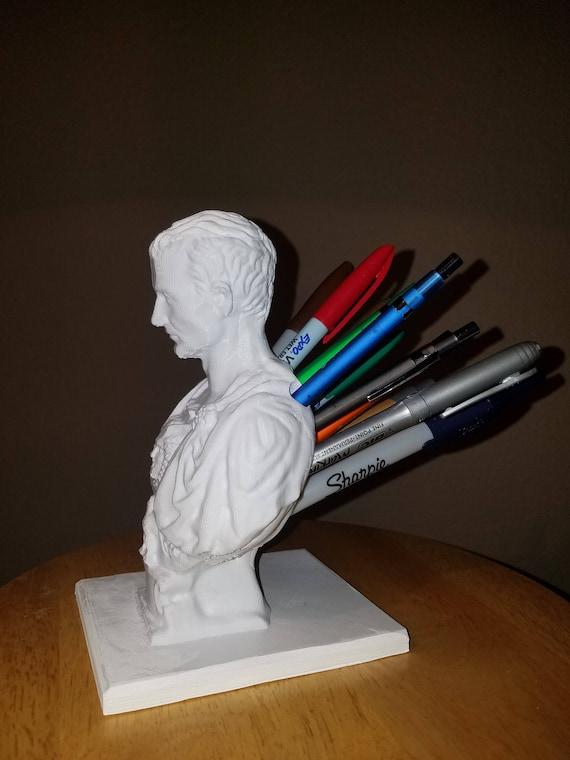Julius Caesar Pencil Holder Unique Julius Caesar Pencil Holder Etsy