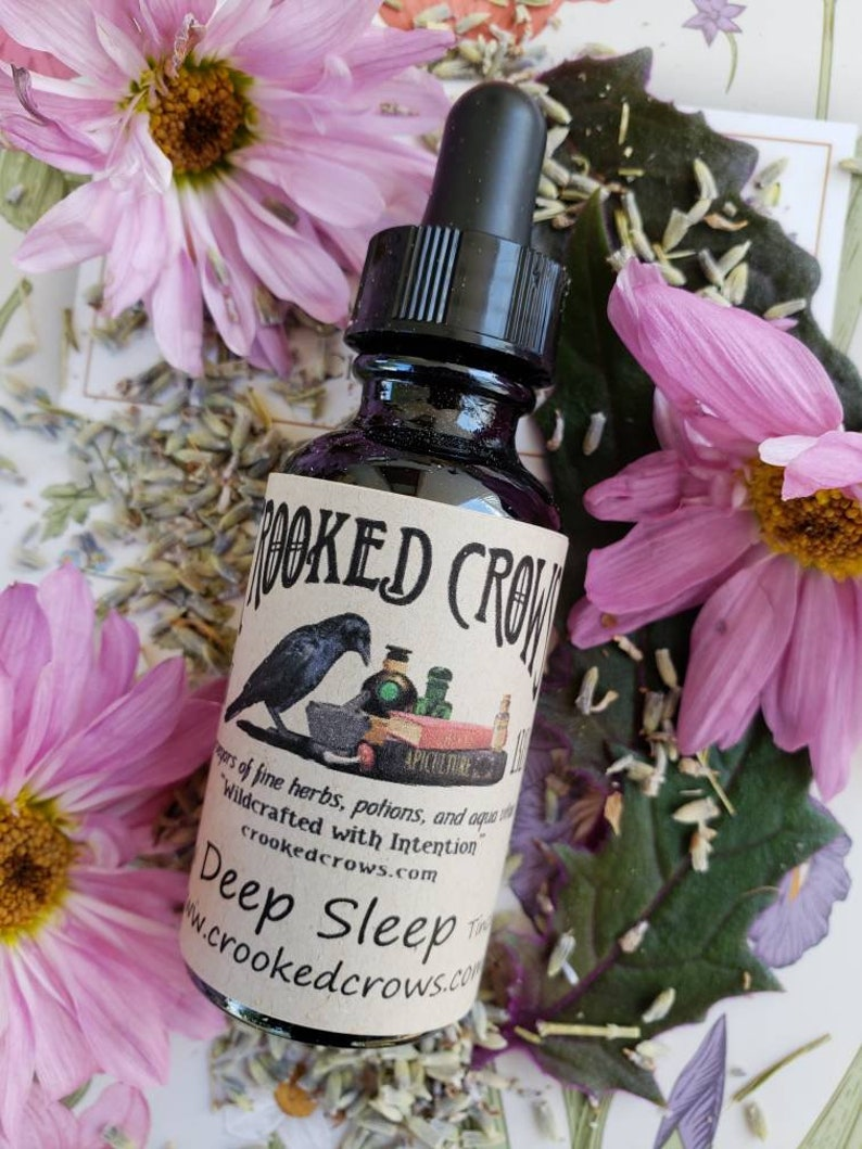 Deep Sleep Herbal Tincture image 0