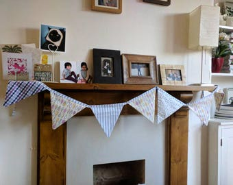 Party bunting for birthday tea party nursery decoration