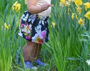 Floral Baby Skirt, Floral Kids Skirt, Baby Girl Skirt, Kids Skirt, Floral Skirt, Baby Summer Clothes, Baby Floral Outfit, Baby Summer Outfit