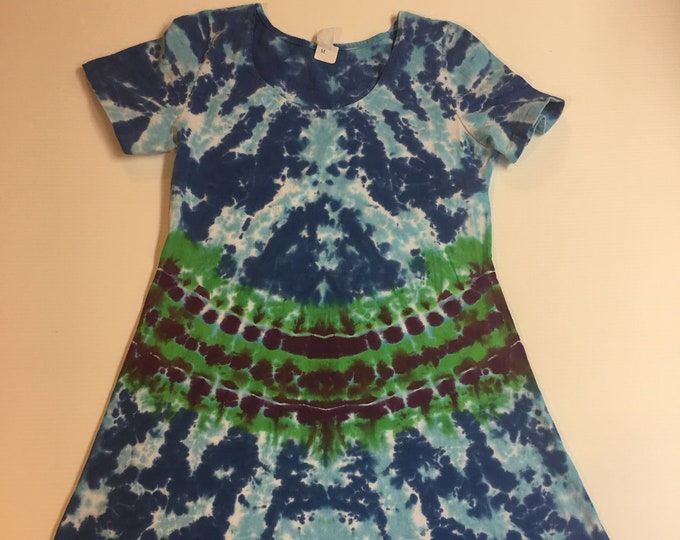 Tie Dyed Ladies Dress Multiple Sizes