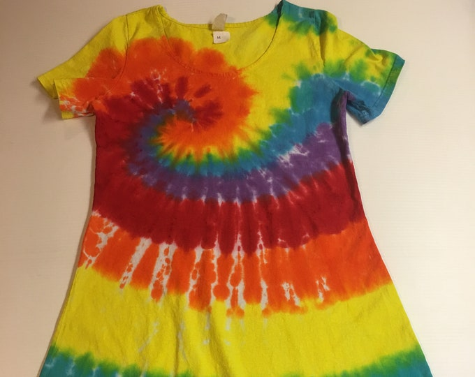Tie Dyed Ladies Dress Medium