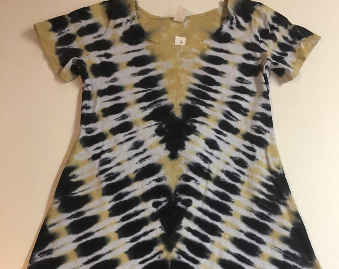 Tie Dyed Saints game day Dress multiple sizes