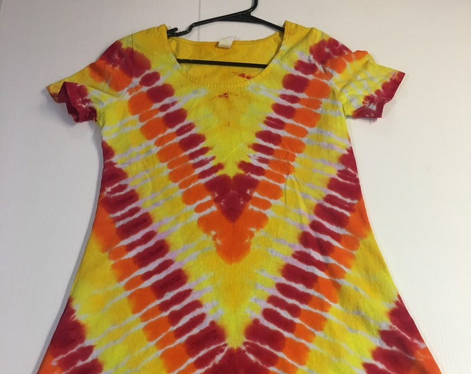 Tie Dyed Dress Medium