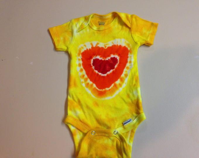 Tie Dyed Baby Onesie 0-3 months