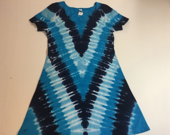 Tie Dyed Ladies Dress All Sizes