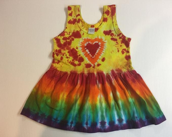 Tie Dyed Dress 4T