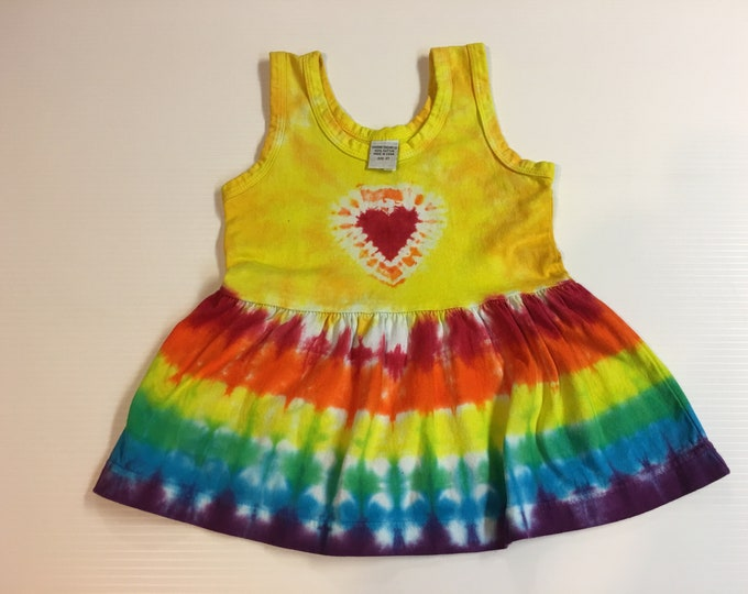 Tie Dyed Dress 2T