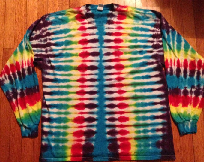Tie Dyed Long Sleeved Tee XXL