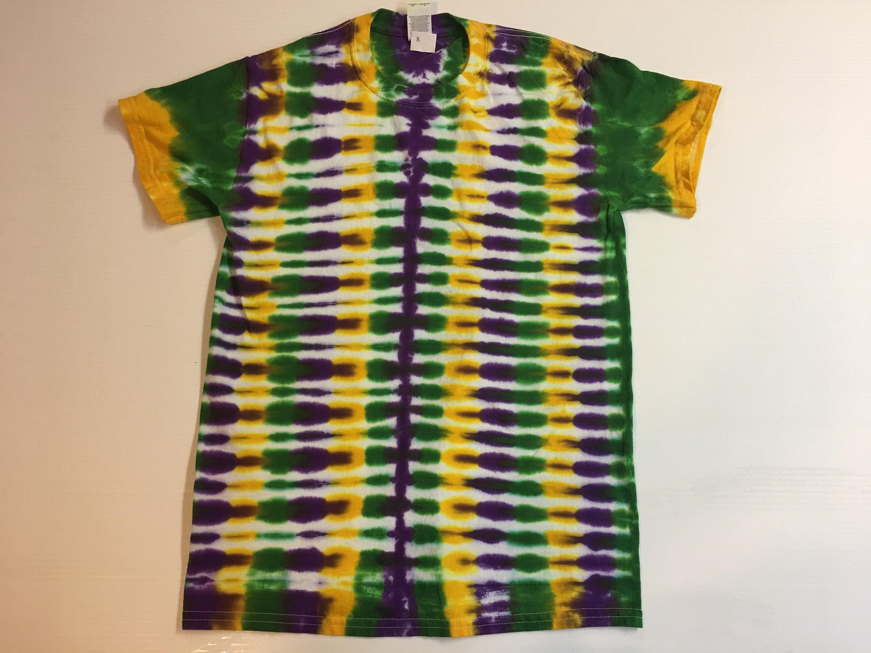 012da57e59ea2 Mardi Gras Tie Dye Shirt Adult small