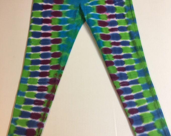 Tie Dyed leggins / yoga pants Small