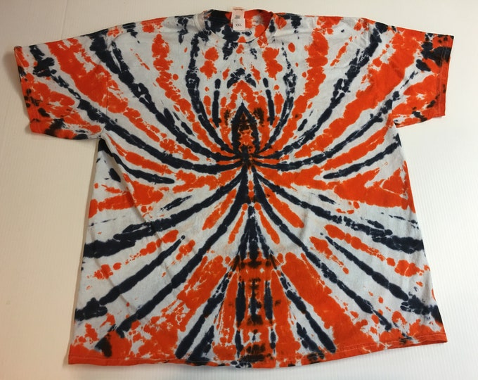 Spider Spiral Tie Dyed Crew neck Short Sleeve Tee all sizes