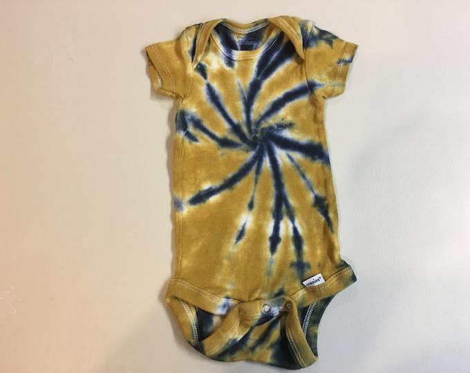Tie Dyed Baby Onsie