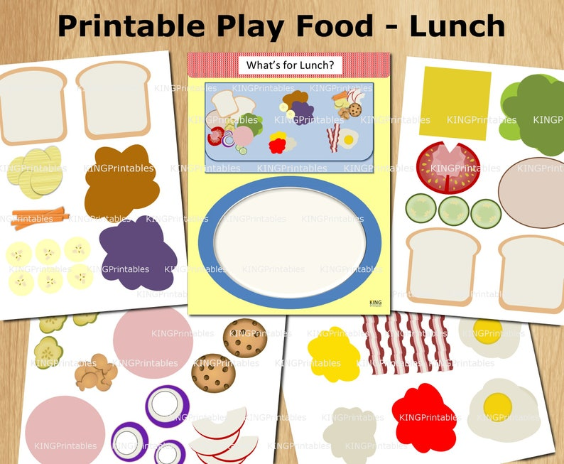 graphic relating to Printable Quiet Book Templates identified as Printable Sandwich Areas, Simple Serene Ebook, Newborn Workbook, Lunch Period, Print and Engage in
