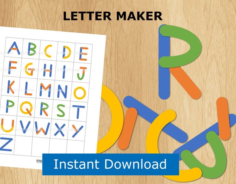 picture regarding Alphabet Puzzle Printable identify ABC Puzzle, Preschool Printable, Alphabet Letter Builder, Report Folder Match, Uppercase Letters, Youngsters Worksheets, Informative Toys