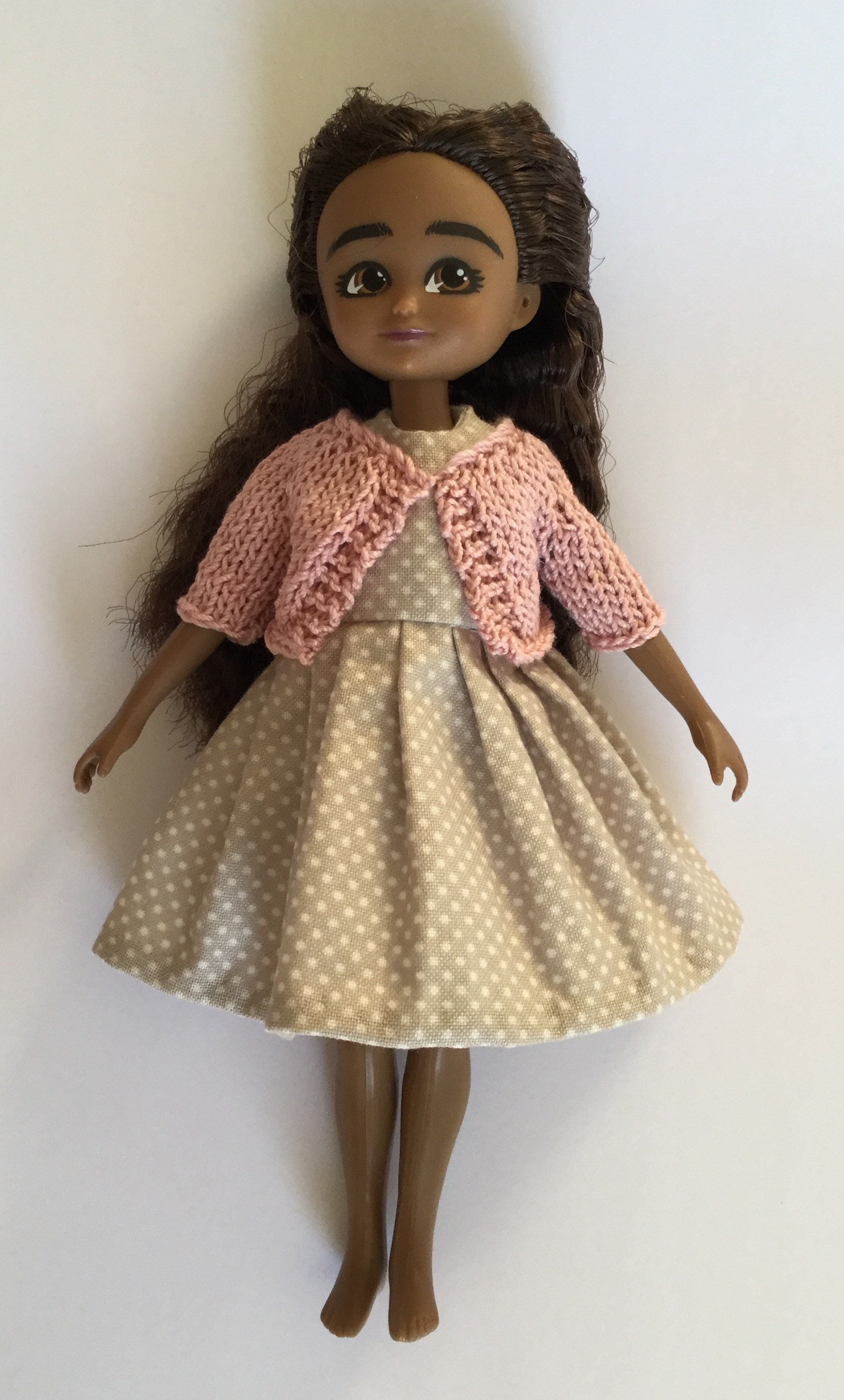 7 Lottie Doll Dress and Cardigan Pattern PDF Sewing and Knitting ...