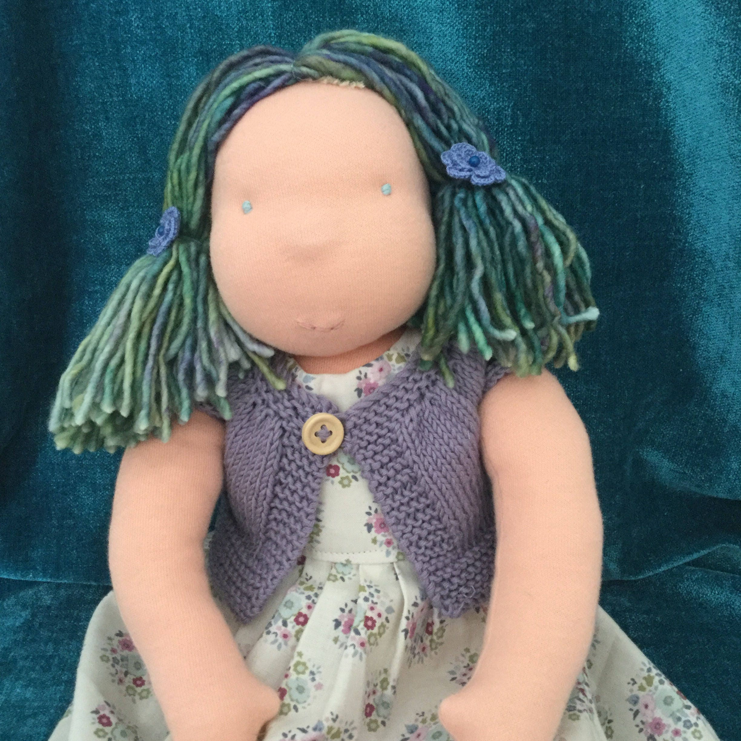 18 Doll Dress and Cardigan Pattern PDF Sewing and Knitting ...