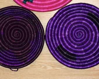 Small Woven Bowls