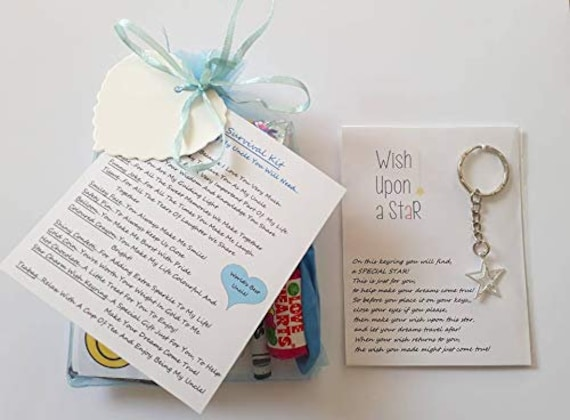 Uncle Survival Gift Kit With Keyring Gift//Present