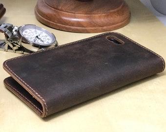 Iphone 8 Case Leather Etsy