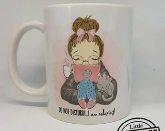 Do not disturb Mug!