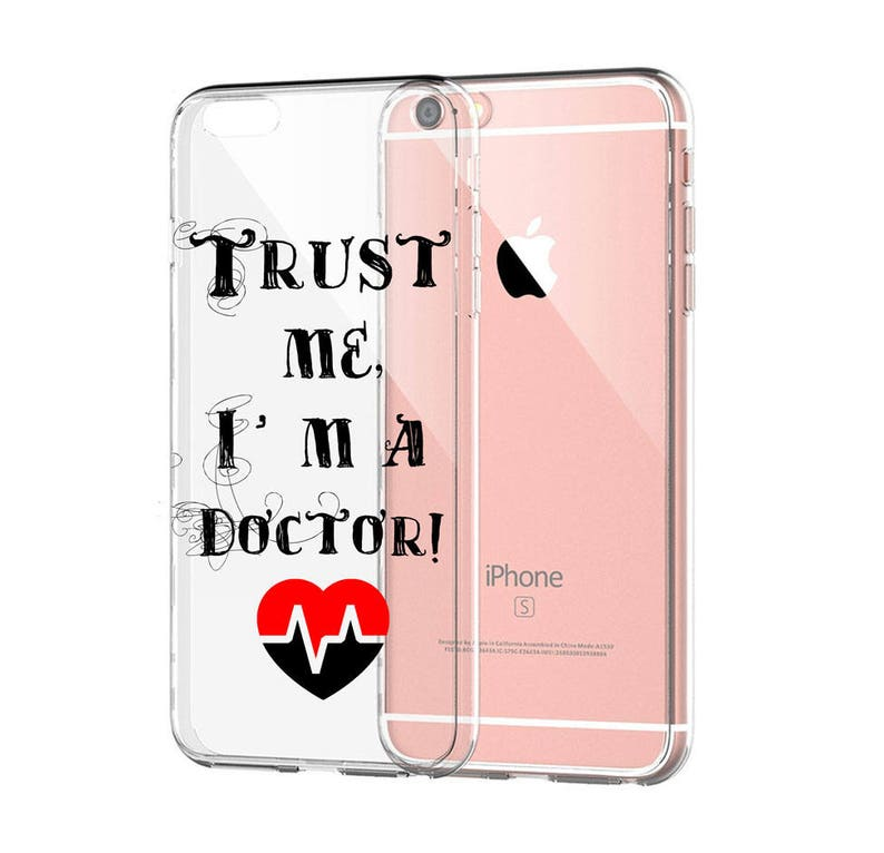 on sale 66eb3 8192f Trust me, I'm a doctor case for iPhone 7 Plus iPhone 6s Plus phone case  custom 5s iphone 7 personalized case 6s cell covers 6 Plus