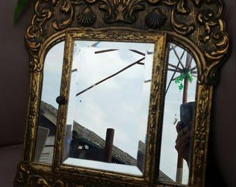 Vintage Spiegel Goud : Spiegels vintage etsy nl