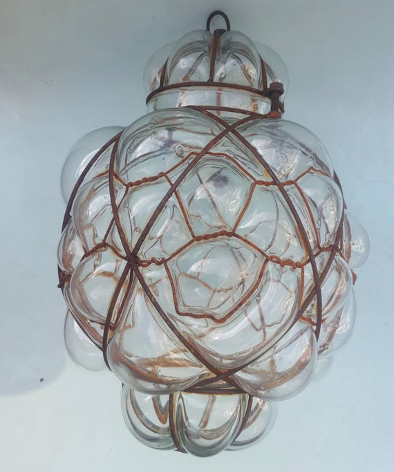 Murano Chandelier Nz: Vintage Hand Blown Glass Chandelier Murano Pendant Light