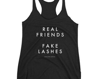 Real Friends Fake Lashes Tank
