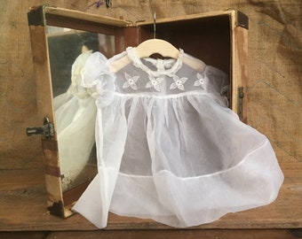 Antique Baby Dress - sheer