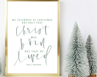 Lds Christmas Quotes.Men Are That They Might Have Joy Religious Print Lds Etsy
