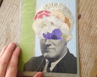 Surreal Collage ~ Original Collage ~ Vintage Collage
