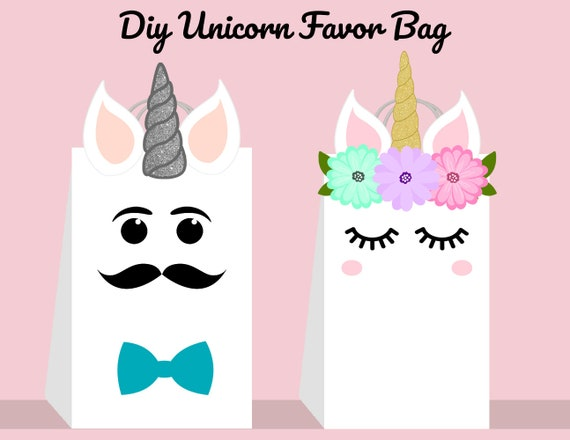 photo relating to Printable Unicorn Template titled Unicorn Do it yourself Prefer Bag Template, Unicorn Social gathering Luggage Printable, Unicorn Do it yourself Present Bag, Unicorn Birthday Printable, Electronic Information (Yourself Print)