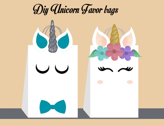 picture regarding Printable Unicorn Template called Unicorn Do-it-yourself Choose Bag Template, Unicorn Bash Luggage Printable, Unicorn Do-it-yourself Reward Bag, Unicorn Birthday Printable, Electronic Data files (By yourself Print)