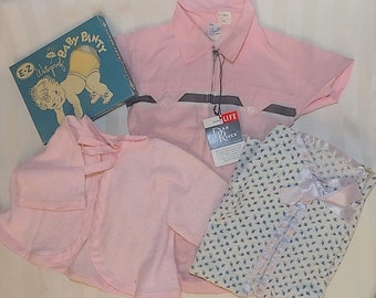 c578b29e6f4 Vintage Baby Girls Clothes Lot of 4