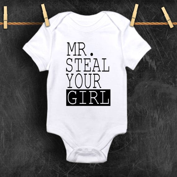 42f4a0d0f2d0 Mr. Steal Your Girl baby shower gift baby boy baby