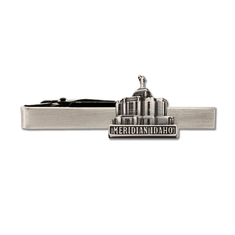 Meridian Idaho Temple pin silver or gold finish Lapel pin